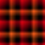 Modelo negro y rojo Fotos de archivo