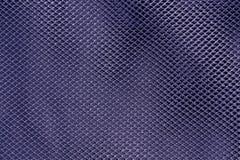 Modelo neto azul de la materia textil Foto de archivo