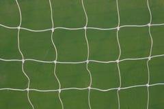 Modelo neto de la meta del fútbol Fotografía de archivo libre de regalías