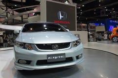 Modelo nuevo de Honda Civic foto de archivo