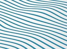 Modelo ondulado abstracto de la línea fondo de la raya del océano fotografía de archivo