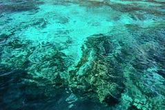 Modelo ondulado de la superficie del mar Fotos de archivo