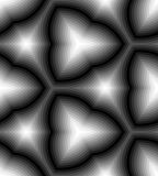 Modelo ondulado monocromático inconsútil de las rayas Fondo abstracto geométrico Conveniente para la materia textil, la tela y em ilustración del vector
