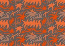 Modelo orgánico inconsútil abstracto Ilustración del vector Imagenes de archivo