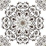 Modelo orgánico redondo ornamental Imagen de archivo libre de regalías