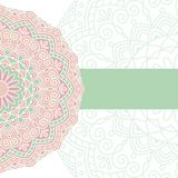 Modelo oriental floral Imagenes de archivo