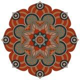 Modelo oriental Ornamento redondo tradicional del colorante mandala Imagenes de archivo