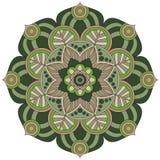 Modelo oriental Ornamento redondo tradicional del colorante mandala Fotos de archivo libres de regalías