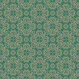 Modelo ornamental inconsútil Color beige de la turquesa del und Foto de archivo libre de regalías