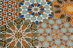 Modelo ornamental oriental inconsútil Vagos decorativos atados Imagenes de archivo