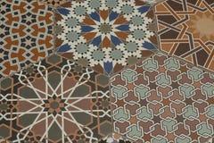 Modelo ornamental oriental inconsútil Vagos decorativos atados Fotografía de archivo libre de regalías