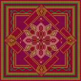 Modelo ornamental Ornamento étnico Imagen de archivo