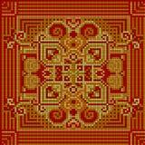 Modelo ornamental Ornamento étnico Foto de archivo