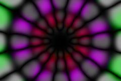 Modelo oscuro del círculo radial multicolor foto de archivo libre de regalías