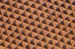 Modelo oxidado del metal Imagen de archivo