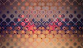 Modelo púrpura de la burbuja Imagen de archivo