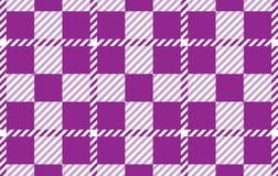 Modelo púrpura de la guinga Textura del Rhombus para - la tela escocesa, manteles, camisas, vestidos, papel, lecho, mantas, edred stock de ilustración