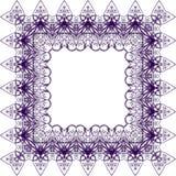 Modelo púrpura del cordón imágenes de archivo libres de regalías
