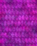Modelo púrpura del diamante Fotos de archivo libres de regalías