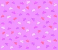 Modelo púrpura del fondo del conejito de pascua