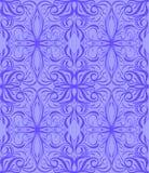 Modelo púrpura Foliate stock de ilustración