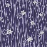 Modelo púrpura japonés de la hoja ilustración del vector