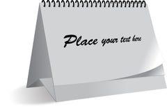 Modelo para el calendario Foto de archivo libre de regalías