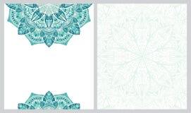 Modelo para la tarjeta de felicitación libre illustration