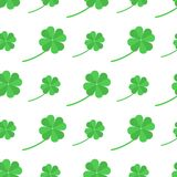 Modelo plano del día del St Patricka Fotos de archivo