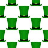 Modelo plano del día del St Patricka Foto de archivo