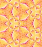 Modelo poligonal inconsútil Fondo abstracto geométrico de color naranja Imagen de archivo