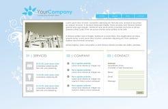 Modelo profesional del Web site Fotos de archivo