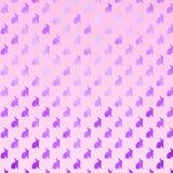 Modelo púrpura rosado de Bunny Background Faux Foil Bunnies Imagenes de archivo