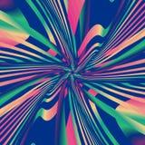 Modelo psicodélico colorido Imágenes de archivo libres de regalías