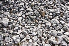Modelo quebrado de las piedras Fotografía de archivo libre de regalías