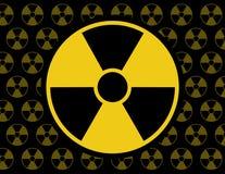 Modelo radiactivo del icono libre illustration