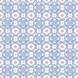 Modelo radial geométrico inconsútil abstracto Vector Imagen de archivo libre de regalías