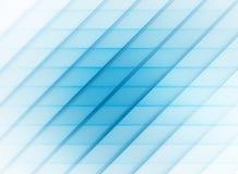 Modelo rayado abstracto azul con las rayas diagonales y horizontales Imagen de archivo libre de regalías