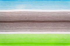 Modelo rayado de la tela en colores en colores pastel suaves Fondo textured extracto Imagen de archivo libre de regalías