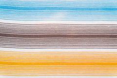 Modelo rayado de la tela en colores en colores pastel suaves Fondo textured extracto Fotografía de archivo libre de regalías