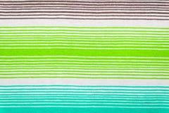 Modelo rayado de la tela en colores en colores pastel suaves Fondo textured extracto Fotos de archivo libres de regalías