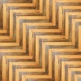 Modelo rayado del piso de madera Foto de archivo