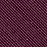Modelo rayado geométrico con las líneas continuas rosadas en fondo negro Vector ilustración del vector