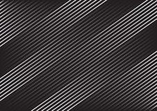 Modelo rayado geométrico con las líneas diagonales paralelas continuas en fondo gris oscuro Vector ilustración del vector