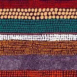 Modelo rayado inconsútil Puntos de la tinta, manchas blancas /negras Impresión para las materias textiles stock de ilustración