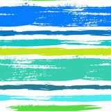 Modelo rayado multicolor con las líneas cepilladas Imagen de archivo libre de regalías