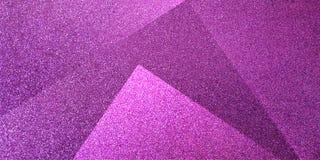 Modelo rayado y bloques sombreados fondo púrpura abstracto en líneas diagonales con textura púrpura del vintage foto de archivo libre de regalías
