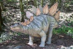 Modelo realista del dinosaurio - Stegosaurus Imagen de archivo
