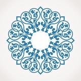 Modelo redondo del ornamento. Fotografía de archivo libre de regalías