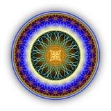 Modelo redondo del ornamento Imagen de archivo libre de regalías